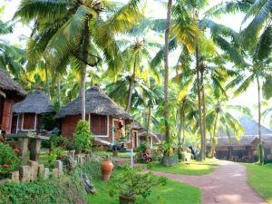 Manaltheeram is a dream come true with an excellent Ayurvedic cuisine.