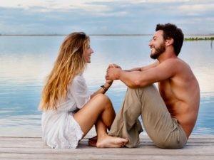 Paradiesische Natur und intensive Begegnungen mit sich und anderen Seminarteilnehmern lassen das göttliche Prinzip der Liebe erkennen