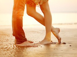 Begegnung der weiblichen Energie in ihrer Lebendigkeit mit der männlichen Energie in ihrer Tiefe.