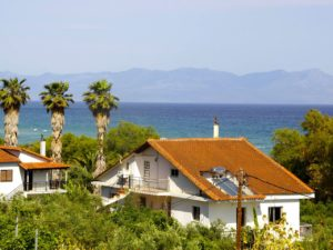 Guesthouse by the sea surrounded by nature and the peace of the tranquility of Zaga beach