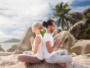 Paradiesische Natur und intensive Begegnungen mit sich und anderen Seminarteilnehmern lassen das göttliche Prinzip der Liebe erkennen.