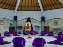 Meditation Hall Shambala Oceanside Resort, Bali